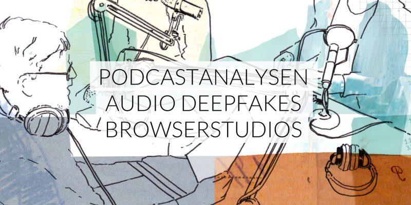 Frequenz | Apple Podcasts Analyse, Audio Deepfake mit Joe Rogan, Soundtrap Browserstudio